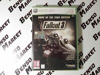 FALLOUT 3 GAME OF THE YEAR EDITION MICROSOFT XBOX 360 PAL ITALIANO COME NUOVO