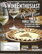 Wine Enthusiast Magazine October 2013 South Africa's Sweetest Wines/Wine & Pie