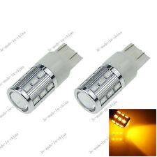 2X Yellow T20 7443 7440 18 5630 1 Cree Q5 LED Blub Turn Sig Light 12V G028