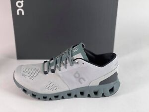 ON RUNNING Cloud X 41.99595 Glacier/Olive Brand New Complete
