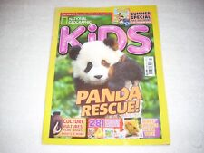National Geographic Kids Magazine Issue 127 Summer 2016 Panda Rescue