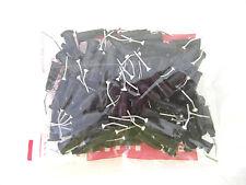 Dental Prebent Needle Tips: 22G 100pcs/bag, Color: Black for composite sealant