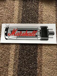 Marshall Valve Sticker Rare 1990's