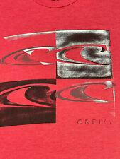 O'NEILL Men's T-Shirt - MENS SIZE L - LARGE - RED - SURF SURFING