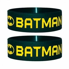Batman Rubber Costume Wristbands