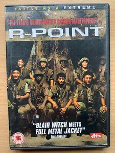 R-Point DVD 2004 Korean War / Horror Film Movie Tartan Asia Extreme