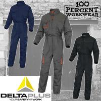 Mechanics Trade Delta Plus Mens Industrial Work Overalls Boiler Suit Coveralls