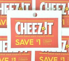 (10) Save $1.00 Cheez-It Crackers (Canada Only)