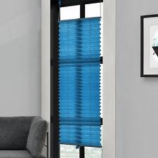 plissée 35x125cm turquoise -Sans perceuse PLIAGE DES AVEUGLES