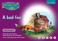 Read Write Inc. Phonics: Purple Set 2 Storybooks. A Bad Fox, Munton, Gill, New B