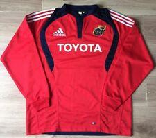 Munster Rugby Shirt Adidas XL Vintage 2007 Kit Long Sleeves. UNUSED. Toyota