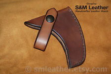 Cold Steel Rifleman's Hawk Tomahawk Brown Leather Sheath Cover only