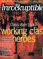 Les Inrockuptibles   N°26  -  4 oct 1995 - Oasis-ken loach Morricone Angus young