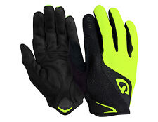 Giro Bravo-LF Gel Cycling Gloves, Fluo Yelow, Men's M
