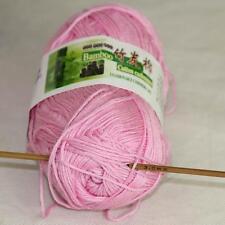 Sale Lot 1 Ball x50gr Soft Bamboo Cotton Baby Wrap Hand Knitting Crochet Yarn 30