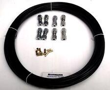 6 mm Reparatur-Set 5m / 4 Verbinder, Kraftstoffleitung, Polyamidrohr, Stahl,