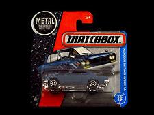 Matchbox Die-cast '71 Nissan Skyline 2000 GTX Dark Blue Racing Harness Turbo