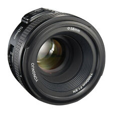 50mm F/1.8 Auto Focus Lens For Nikon D300 D3200 D5100 D5200 DSLR Camera Black