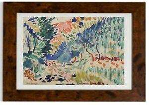 Landscape At Colliour, 1905  Framed Print by Henri Matisse