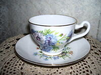TEA CUP & SAUCER FLORAL BONE CHINA England