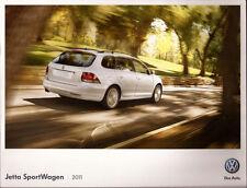 2011 11 VW Jetta Sportwagen Sport Wagon  oiginal  brochure MINT