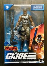 G.I. JOE CLASSIFIED SERIES ROADBLOCK COBRA ISLAND ACTION FIGURE TARGET EXCLUSIVE