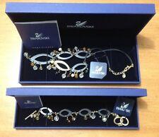 Beautiful Original Swarovski Necklace & Bracelet Set w/ box.