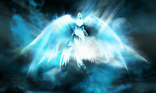 HOT World of Warcraft angel Soul doctor Resurrection operation game mouse pad.