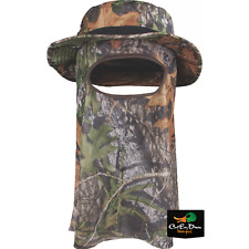 DRAKE WATERFOWL OL TOM BIG BOB BOONIE HAT WITH MASK OBSESSION CAMO MEDIUM