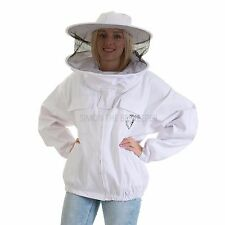 Beekeepers White Round Jacket - Size: 3XL