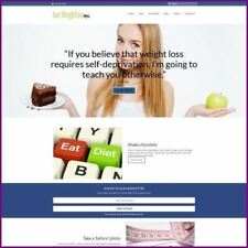 WEIGHT LOSS Website Earn £9.99 A SALE|FREE Domain|FREE Hosting|FREE Traffic