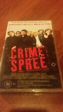 CRIME SPREE - GERARD DEPARDIEU - VHS VIDEO