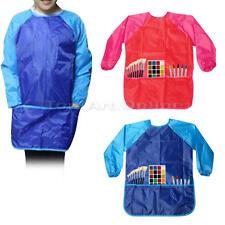 Mignon Enfant Tablier Veste Chemise Etanche Costume Pour Art Peinture Et Cuisine