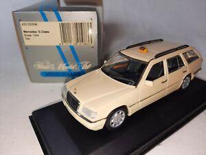 Minichamps Mercedes Benz E Class Break TAXI 1994 1/43 430033596
