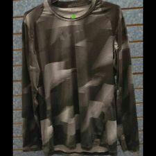 Men´s Nike Dry Fit Long Sleeve Shirt Black/White Sz Xxl