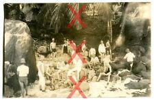 KREUZER EMDEN, orig. Foto, Landungskorps, Port Victoria, Seychellen, 1926-28