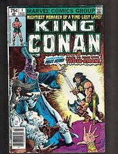 "King Conan #1 ~ ""The Witch of the Mists"" ~ 1980 (4.5) WH"