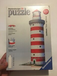 Ravensburger 3D Lighthouse 216 PCs Puzzle Made in Czech Republic