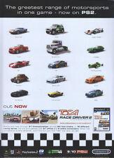 Toca Race Driver 2 Ultimate Racing Simulator 2004 Magazine Advert #3378