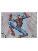 2013 Fleer Marvel Retro Spider-Man Sketch Card Maura Forda Original Art 1/1