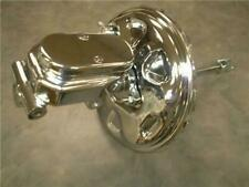 """1964-1972 GM A F Body 11"""" Delco Chrome Brake Booster + Flat Top Master Cylinder"""