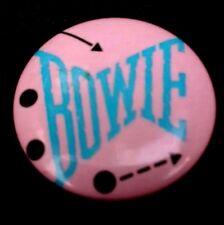 David Bowie Original 1983 Serious Moonlight Tour / Let's Dance Album Button Pin