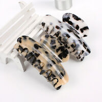 Women Large Acrylic Hair Claw Marble Print Hair Accessories Fashion Hair Clip