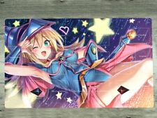YuGiOh Playmat Yu-Gi-Oh! Dark Magician Girl TCG CCG Mat Trading Card Game Pad