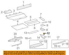 TOYOTA OEM Interior-Rear-Box Clip 9046706020C0