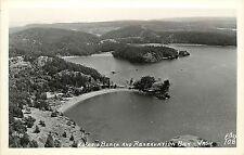 c1940 RPPC; Rosario Beach & Reservation Bay WA Skagit County Ellis 108 Unposted
