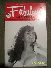 Fabulous Las Vegas Magazine Mitzi Gaynor Sherri Schruhl Fremont Greeter 9/6/1969