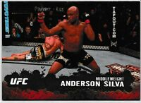 Anderson Silva 2009 Topps UFC Gold Card # 33 Pride
