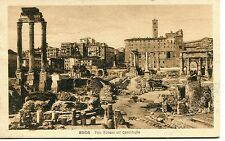 1926 Roma Foro Romano col Campidoglio  FP B/N VG