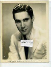 "PHILIP REED in ""Glamour"" 1934 Original Vintage Publicity Studio Portrait Photo"